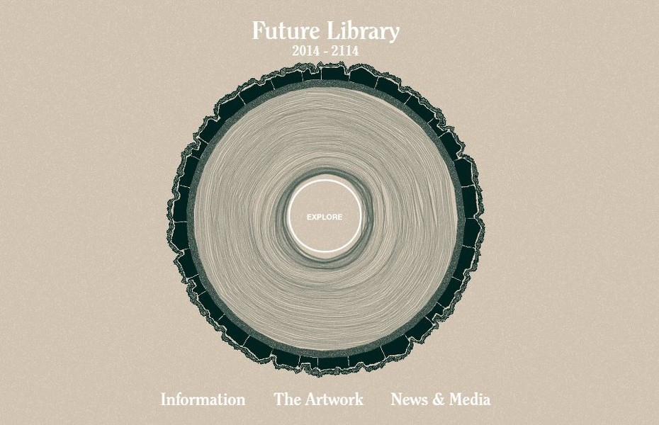 Web oficial 'Future Library'